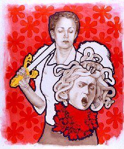 St Ursula and the Gorgon's Head : 2002,
