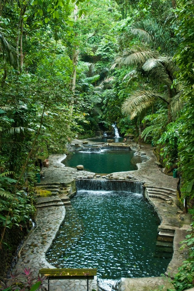 Philippines Hot Spring In 2019 Garden Pond Design