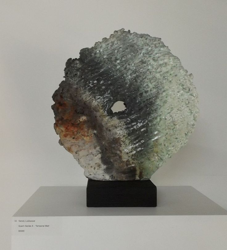 Sandy Lockwood - Quern Series X – 'Temporal Melt' - Australian woodfire: Curator's choice, 8 July – 2 August 2015, Strathnairn Arts