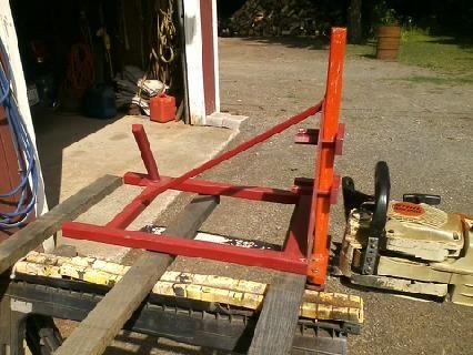 My mini Alaskan  chainsaw mill
