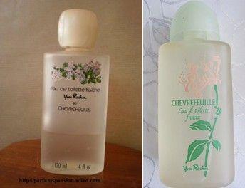 Chèvrefeuille d' Yves Rocher, ons Gudrun haar tweede parfumeke
