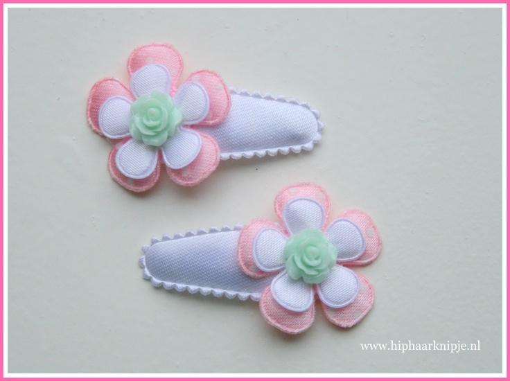 #baby #haarknipjes #pastel www.hiphaarknipje.nl