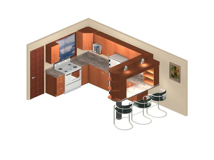 Dise o de cocina y mini bar ponte en contacto con nosotros venezuela hogar dise o interior - Cocina para bar ...