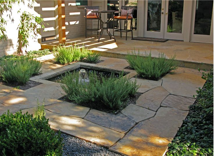 35 best images about courtyard design ideas on pinterest for Courtyard stone landscape