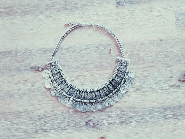 Chunky silver statement #accessories #silver #ambleandthorn #fashion