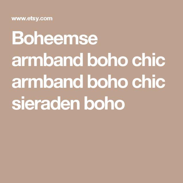 Boheemse armband boho chic armband boho chic sieraden boho