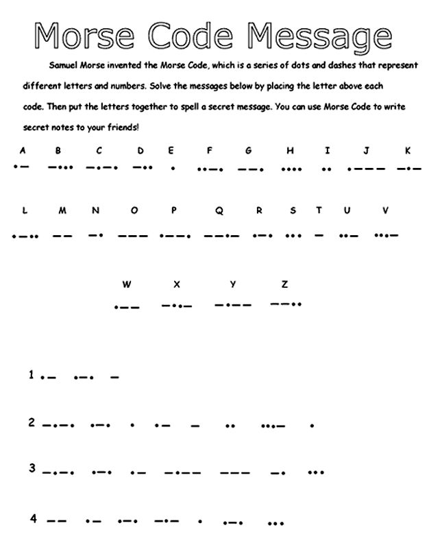 Best Morse Code Images On   Languages Morse Code And