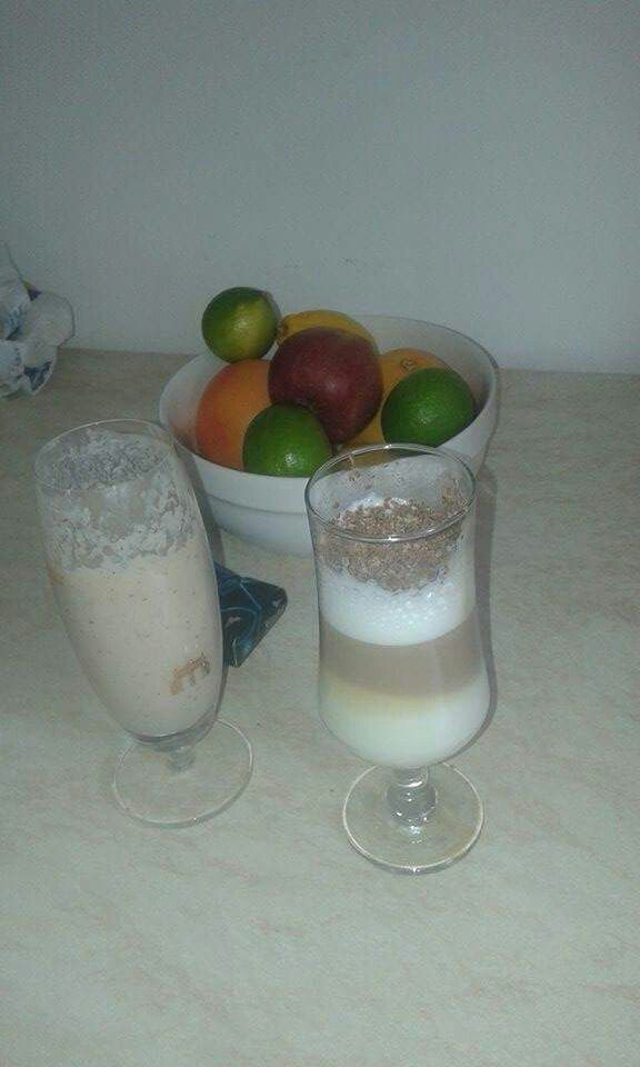 #Latte #Milkshake