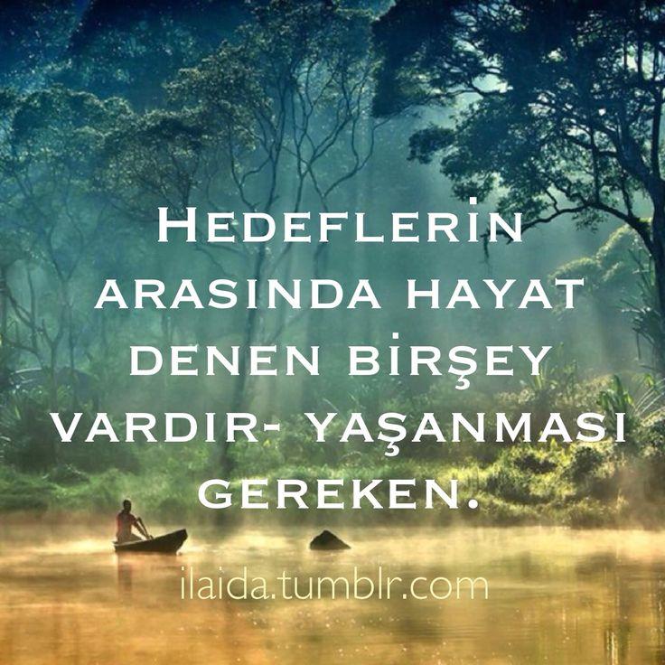 Güzel sözler • Turkish quote ilaida.tumblr.com