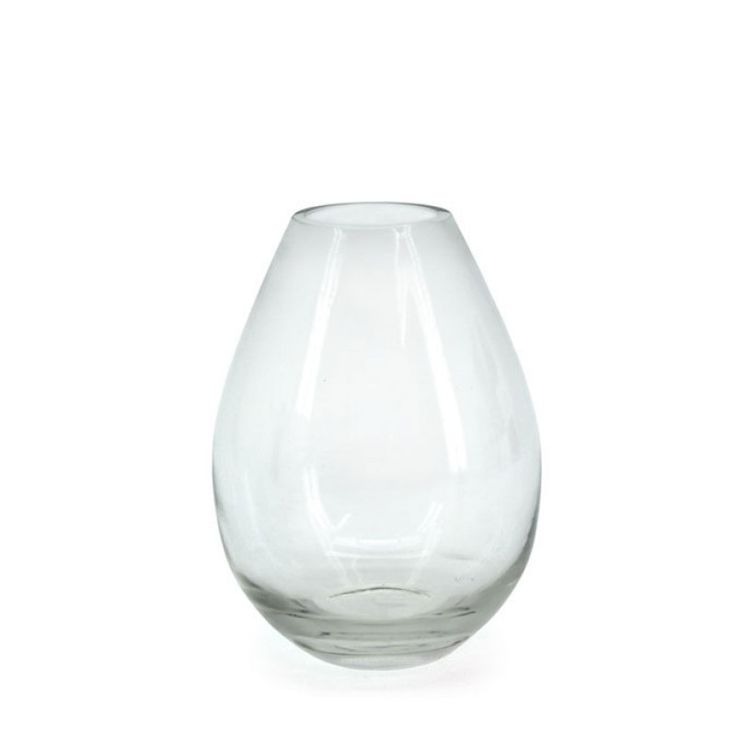 Glass Teardrop Vase 19H x 6.8BD x 6.3TD (02-TEARDROP-14) | Oceans Floral-We stock competitively priced quality glassware in a large range of styles. Whether you need glass vases, fish bowls, bottles and jars, hanging vases or an elegant showcase piece, we have the latest styles and a fantastic variety of glass vessels to cover all occasions. Weddings, DIYwedding, Centrepiece, Event planning.