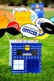 POLICE Party - COP CORN CIRCLE - Police Officer Party