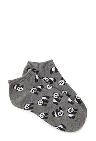 Panda Party Ankle Socks | FOREVER21 - 2000067278