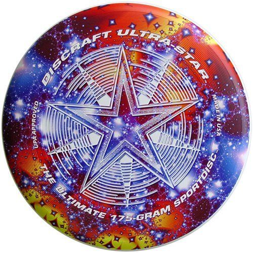 Discraft 175 gram Ultimate Frisbee Ultra-Star disc by Discraft, http://www.amazon.com/dp/B001I8PQ6G/ref=cm_sw_r_pi_dp_cs01rb0F86ARD