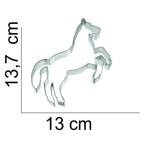 Koekjes uitsteker steigerend paard