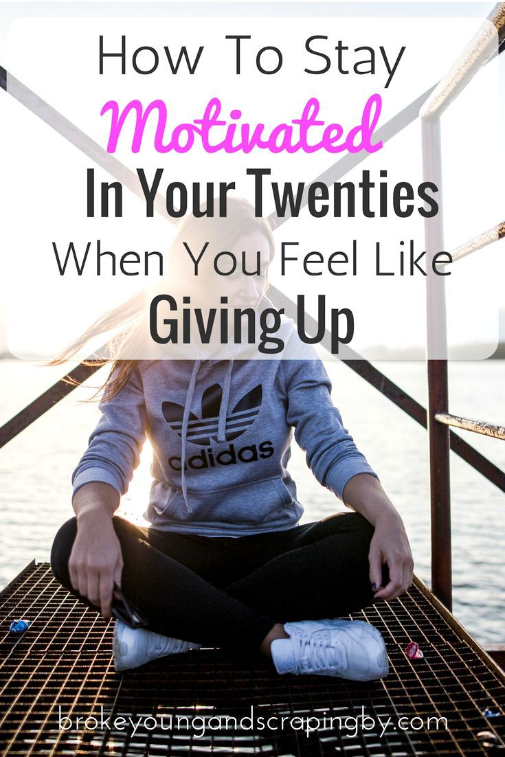 Being in your twenties and trying to figure out life can be hard. So I've got some tips to keep you motivated along the way!