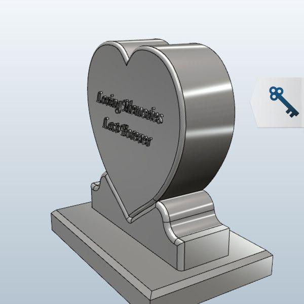 Heart 3D Model Made With 123D 123D Design
