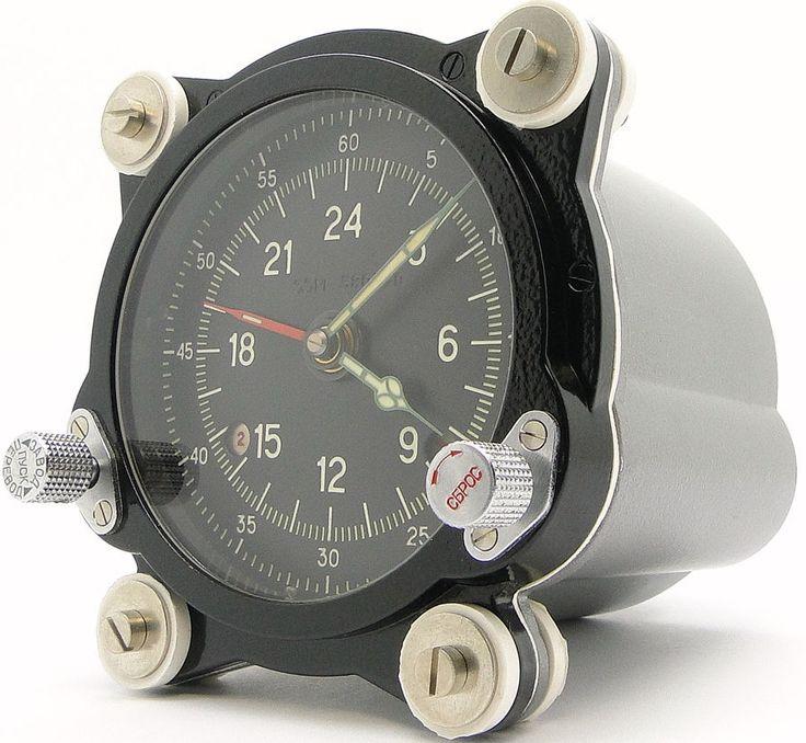 New 129 CHS 55m Russian Military Aircraft Achs 1 Cockpit Clock Tupolev Bomber | eBay
