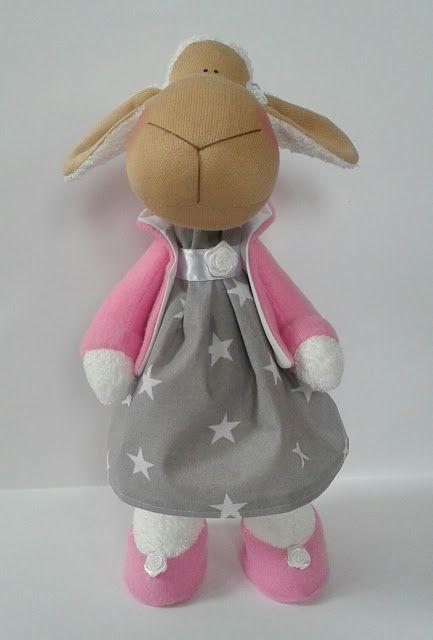 Moje anielskie inspiracje: Owieczka.