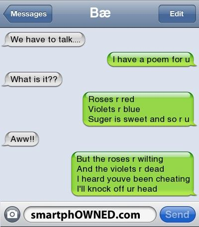 If this ever happens to me I must remember this poem.