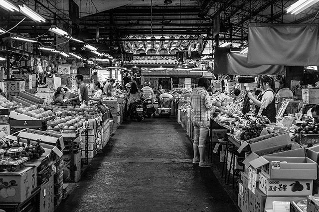 A Snapshot Of The Fruit And Vegetable Wholesale Market The Oldest One Of Taipei City Market Marketplace Life Food Fruit Taipei City Old Things Instagram