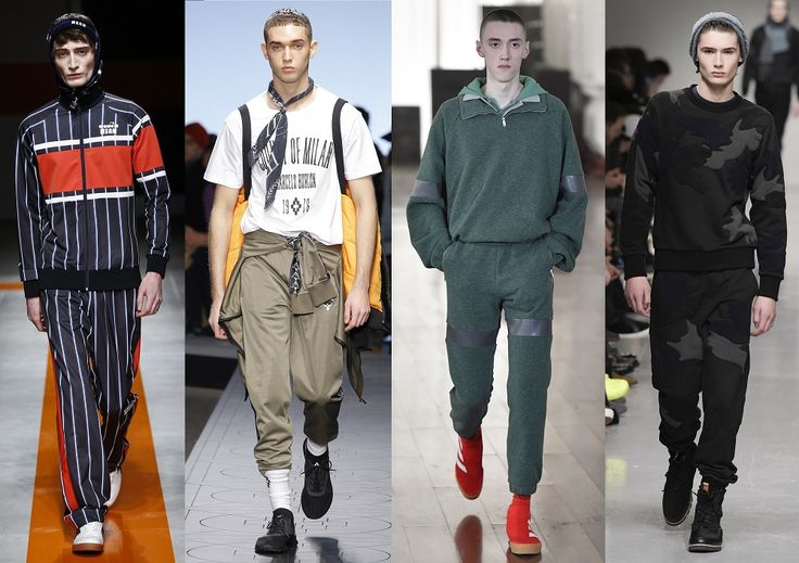 Férfi divat 2017 ősz Fashion trends FW 2017