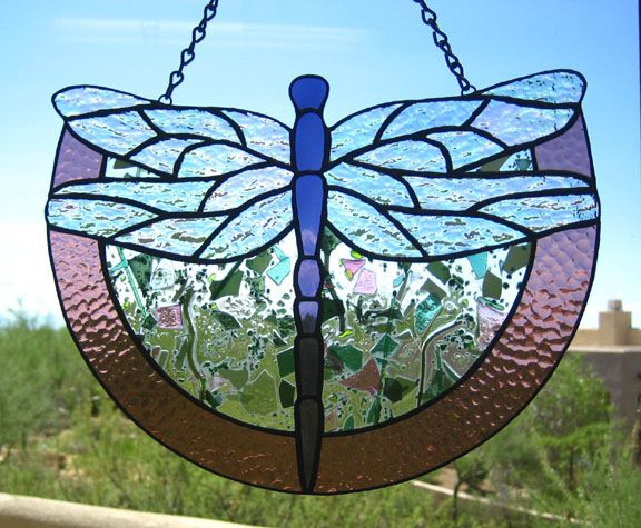 Dragonfly Stained Glass