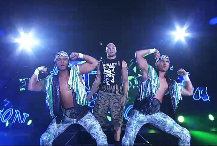 NJPW: The Young Bucks And Cody Hall #BulletClub