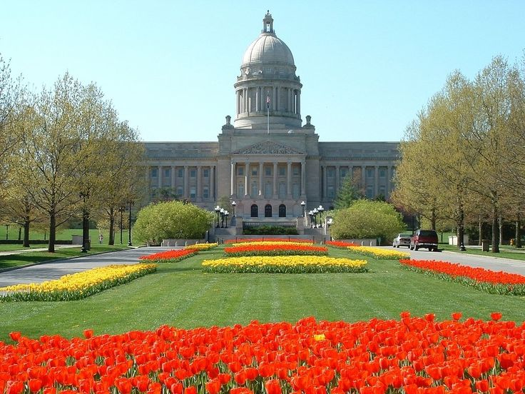 Frankfort, KY: Kentucky's capital. Frequently voted the most scenic state capital in the U.S.