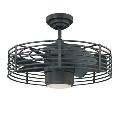 Designers Choice Collection Enclave 23 in. Natural Iron Ceiling Fan - Best 25+ Caged Ceiling Fan Ideas On Pinterest Industrial Ceiling