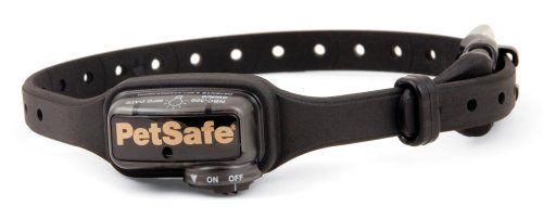 $77.84-$99.99 Deluxe Little Dog Bark Collar fits most dogs up to 55 pounds.  With NANO-TECHNOLOGY making this the smallest bark collar available.  Also has the patented Perfect Bark detection that ensures your dog's bark is the only sound that will cause the correction.  Includes automatic correction level adjustment called Temperament Learning.  This software tracks the number of corrections nee ...