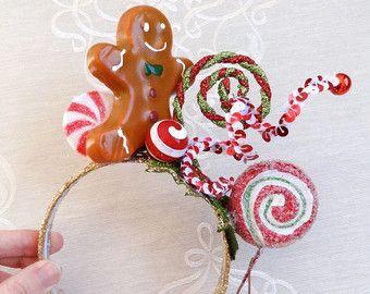 christmas cupcake headband christmas headband por TinseledTiara