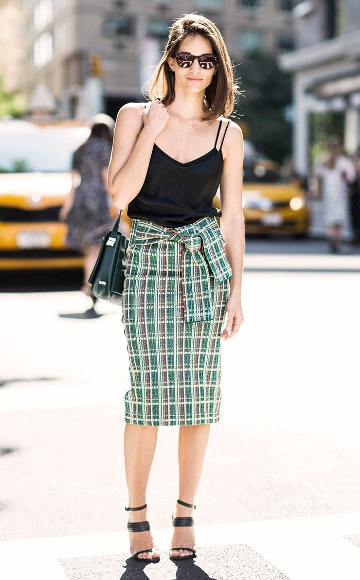 7 Warm-Weather Outfits You Can Always Count On via @WhoWhatWear