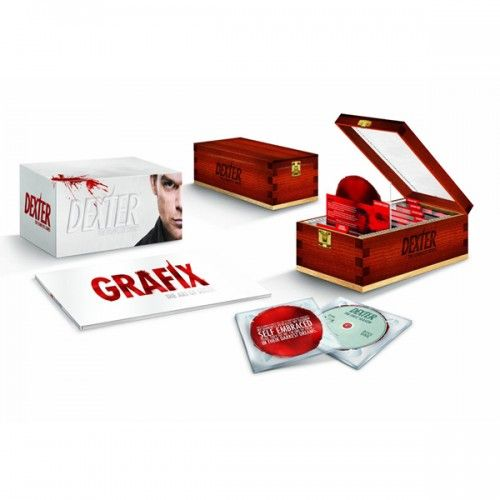 Available in DVD. This box set compiles every episode from the entire run of the Showtime series Dexter which starred Michael C. Hall as a serial  sc 1 st  Pinterest & 111 best DVD box set design images on Pinterest | Set design Blu ... Aboutintivar.Com