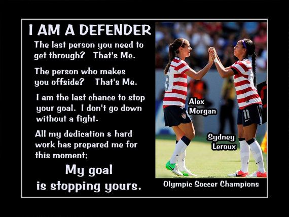 Soccer Motivation Poster Alex Morgan-Sydney Leroux by ArleyArt