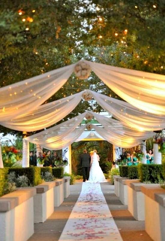 Outside Wedding Ideas With Garden Wedding Ideas On A Budget 5119 ... | October 22 2016 ...