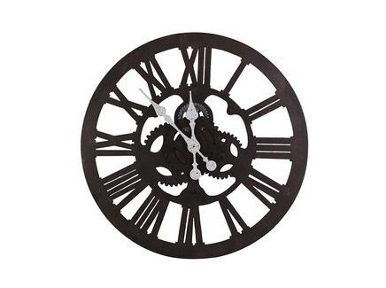 Настенные часы из металла в стиле индастриал