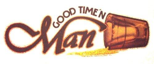 """""""GOOD TIMIN' MAN"""" WILLIE NELSON WAYLON JENNINGS LYRIC VINTAGE T-SHIRT IRON-ON"""