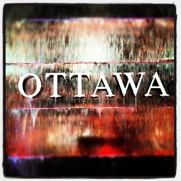 The Ottawa sign at the Ottawa International Airport #YOW. For more information on Ottawa visit www.ottawatourism.ca