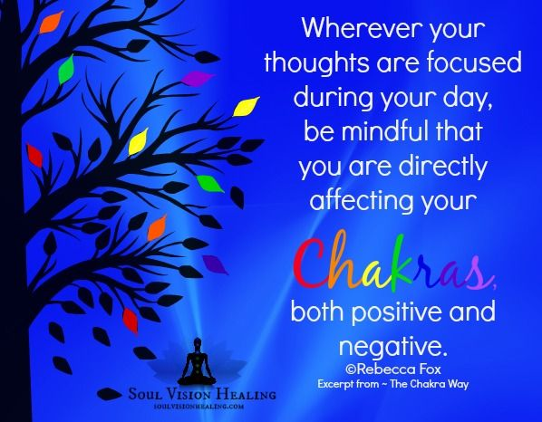 Rebecca Fox ~ Author of The Chakra Way ~ The Quick Fix Diet for mind, body and soul. www.soulvisionhealing.com