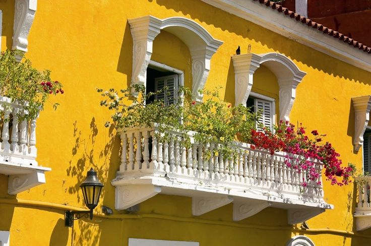balcony in Colombia #travel