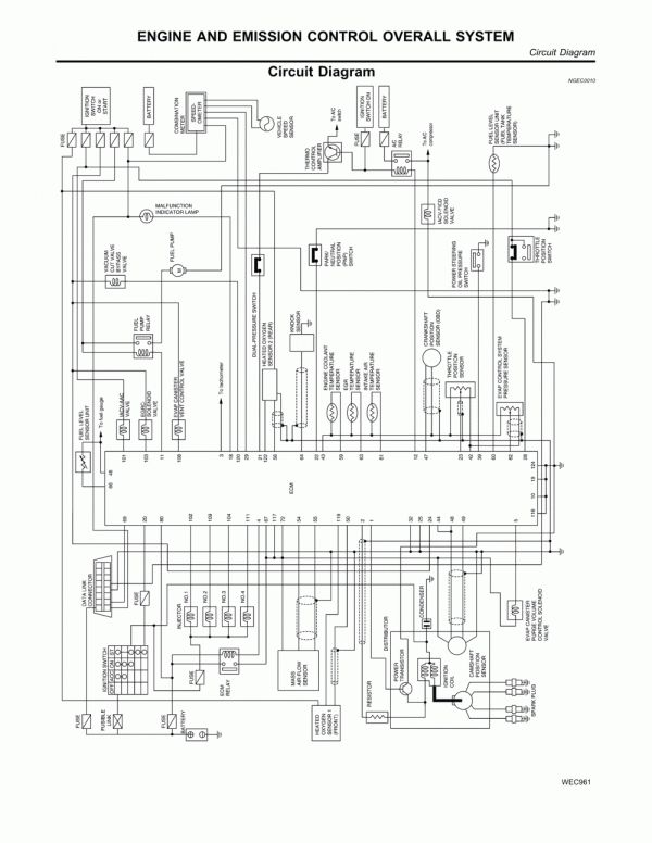 15 Ka24de Engine Wiring Diagram Engine Diagram Wiringg Net In 2020 Diagram Engineering