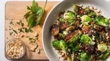 Skillet-Roasted Brussels Sprouts W/Chile, Peanuts and Mint-ATK | Food.com   – Recipes