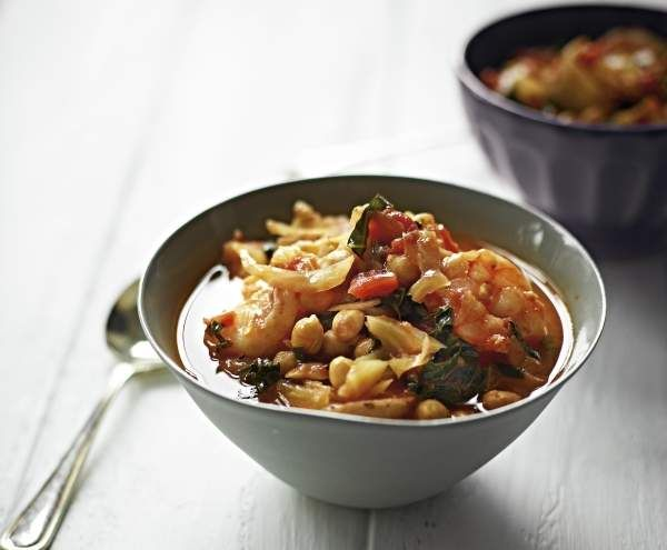 Recipe Prawn, chickpea and fennel soup by Michelle Bridges - Recipe of category Soups