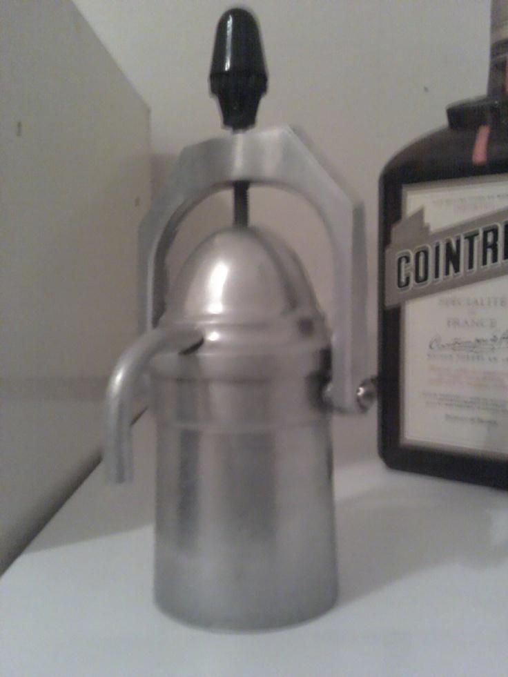 meine neue alte kaffemaschine, macht den besten kaffe der welt :)))