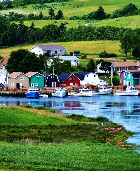 French River, Prince Edward Island.