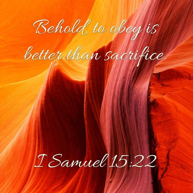 1 Samuel 15:22
