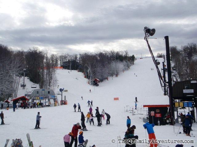 Ski resort near Atlanta - Appalachian Ski Mountain.