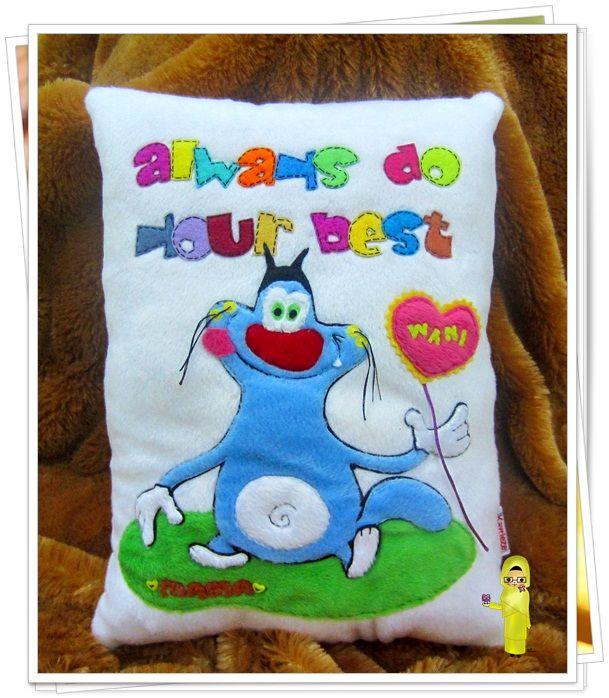oggy cushion