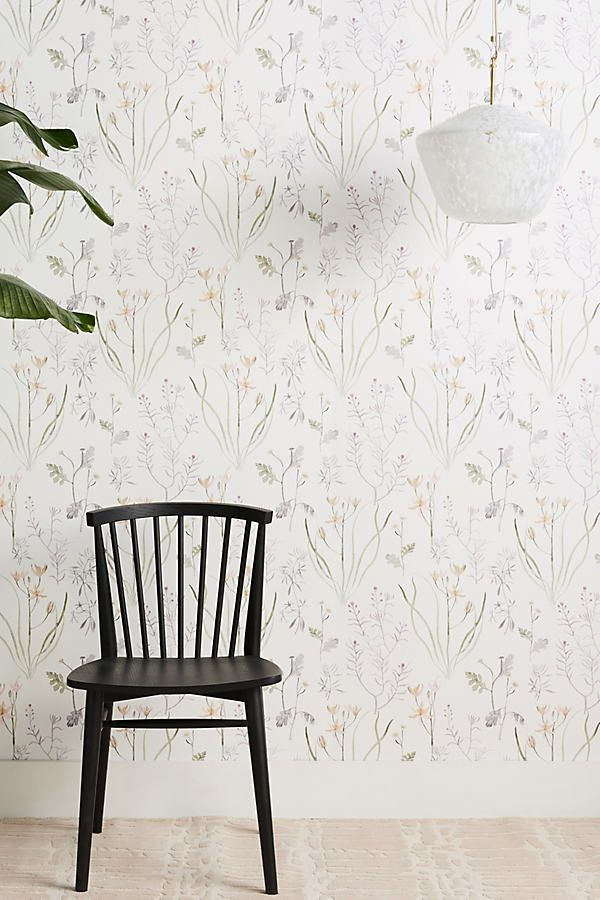 Alpine Botanical Wallpaper In 2021 Botanical Wallpaper Unique Wall Decor Dining Room Wallpaper