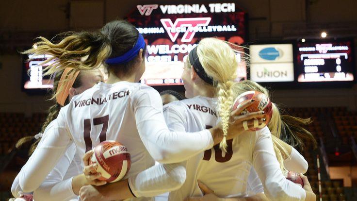 Virginia Tech releases 2015 volleyball schedule